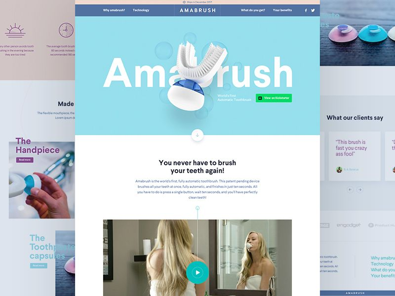 Amabrush Home Concept Concept Design Projects