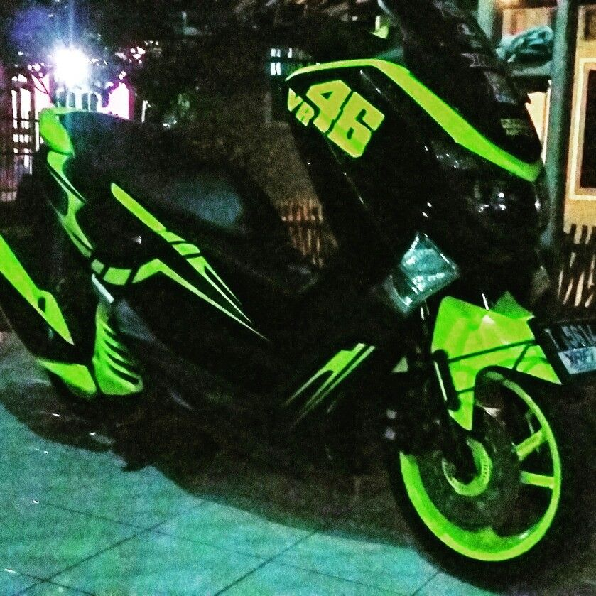 Pin By Dicky Mahardika On Nmax Aink Pinterest Cars - Mio decalsyamaha mio sporty green force lime color striping stickers