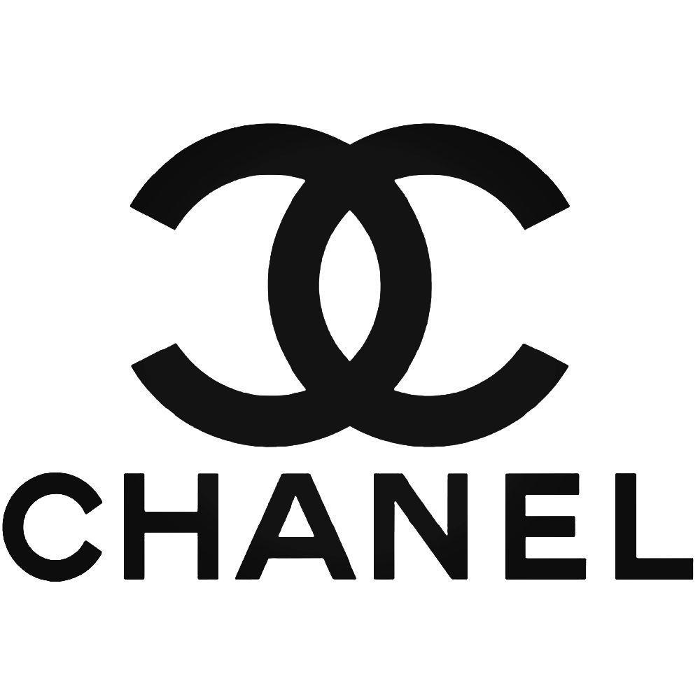 Chanel logo vinyl decal sticker