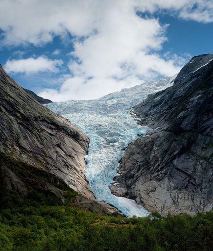 walk on a glacier