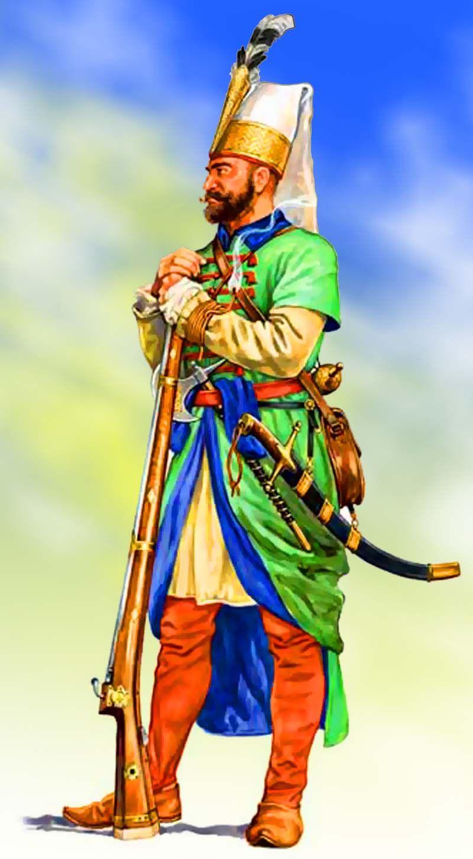Ottoman Janissary soldier | Ottoman empire, Turkish ...Ottoman Empire Janissaries