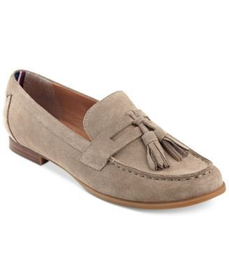 TOMMY HILFIGER Tommy Hilfiger Sonya Tassel Loafers. #tommyhilfiger #shoes # all women