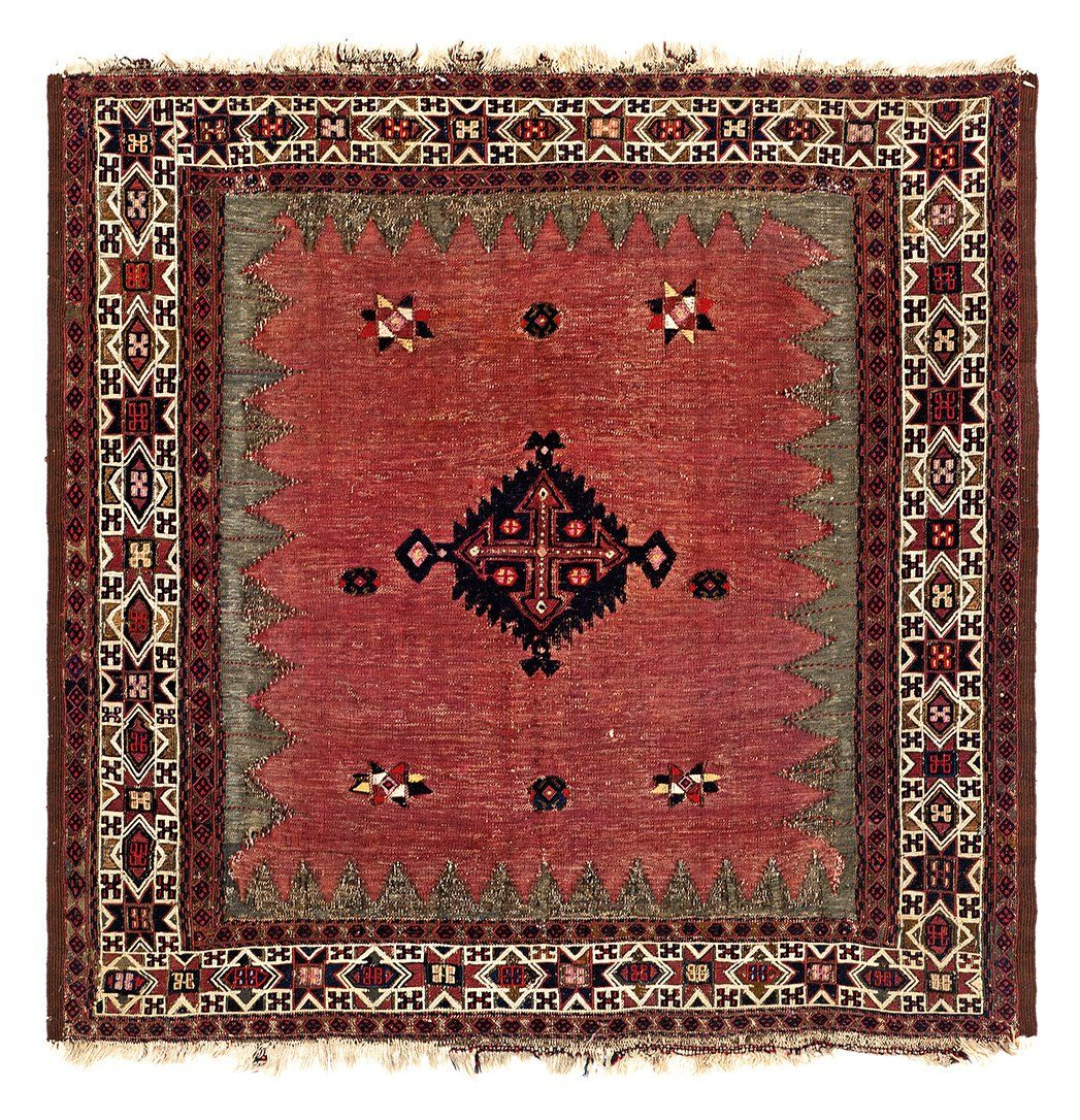 Baluch sofreh Persia, ca. 1900 3ft. 11in. x 3ft. 8in.