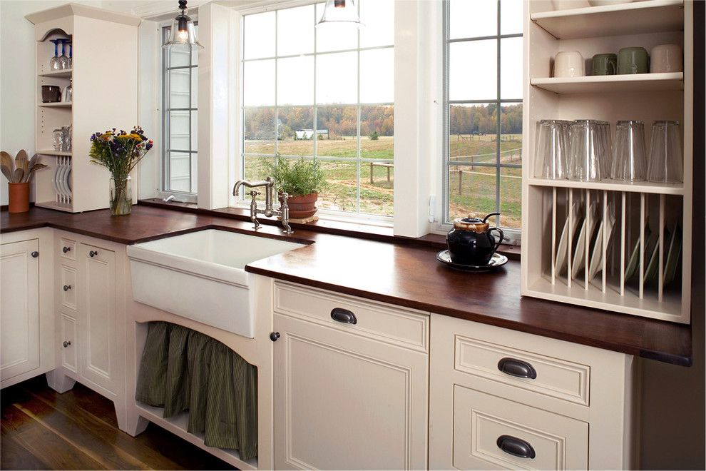 My Sink Similar Faucet And A Wood Counter Freestanding Kitchen Kitchen Cabinets Decor Free Standing Kitchen Cabinets