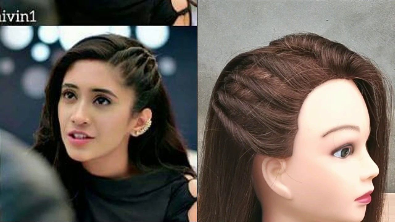 easy everyday girls hairstyle