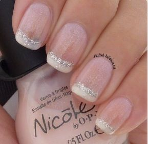26 Awesome French Manicure Designs - Hottest French Manicure Ideas Nagels