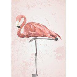 Affiche Poster En Soldes Deco Flamant Rose Flamant Rose Tableau Design