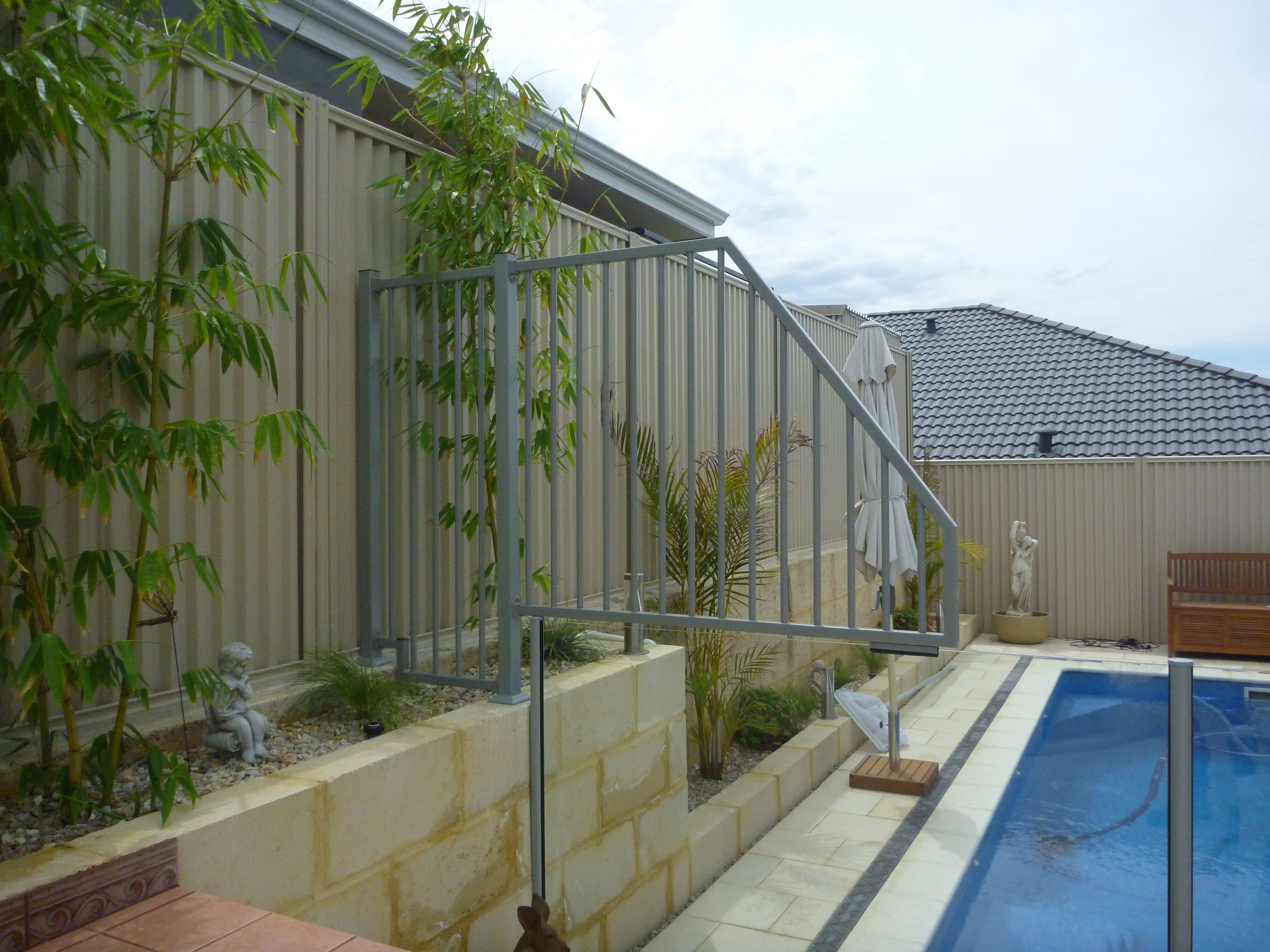 Glass Pool Fencing, Pool Fence, Retaining Walls, Pool Ideas, Swimming
