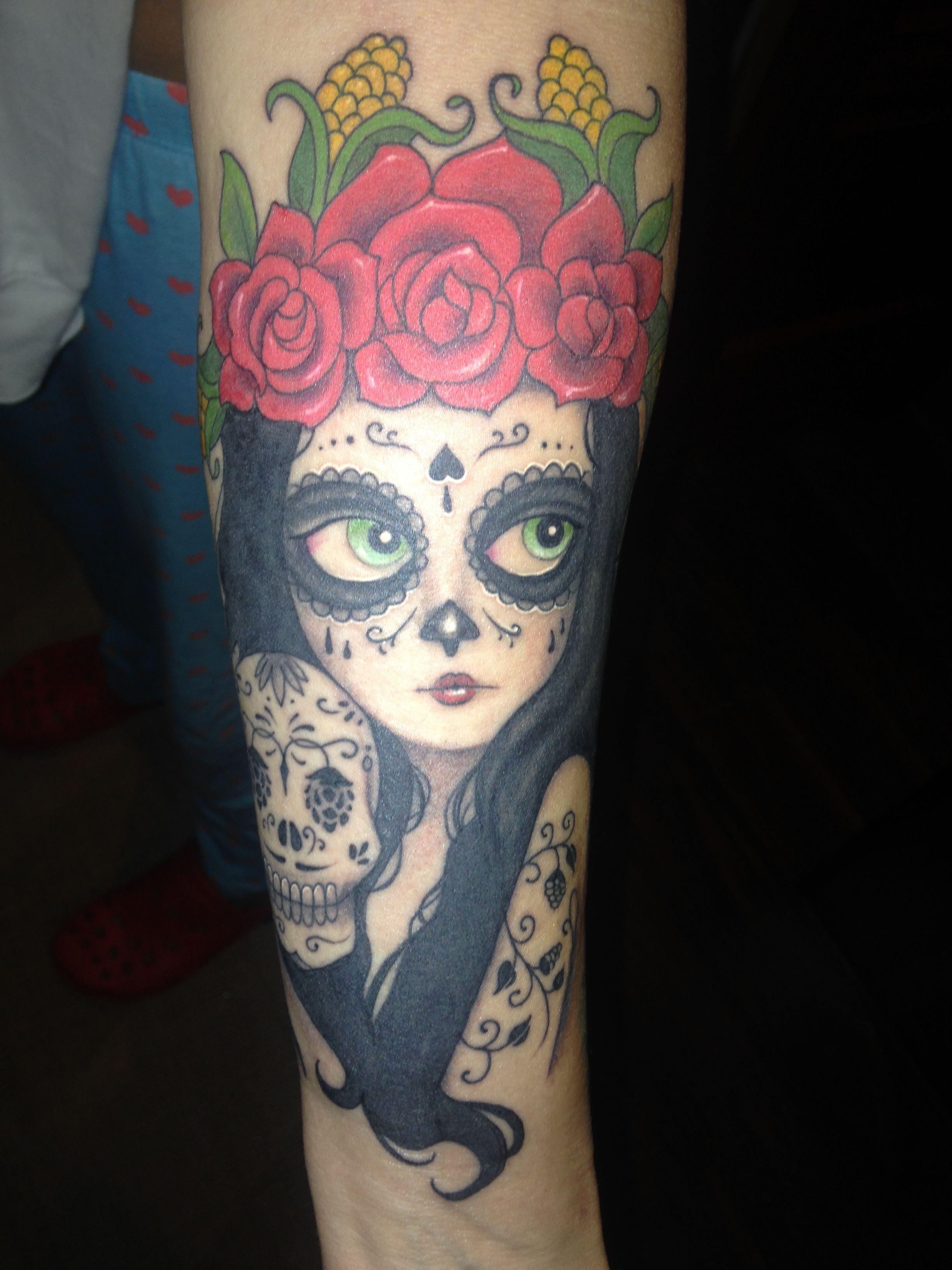 Tatuaje Catrina Tatuaje Calavera Mexicana