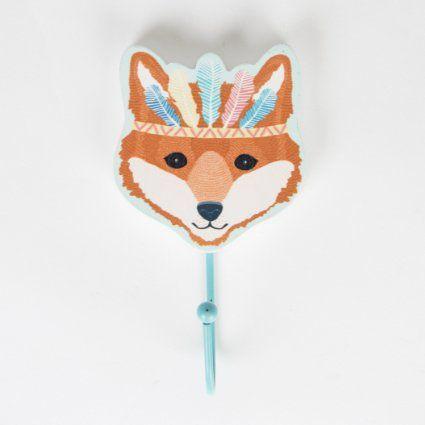 Luxury Einzelhaken Indianer Fuchs f r das Kinderzimmer
