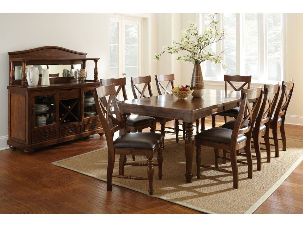 Steve Silver Dining Room Wyndham Dining Table WD500T   Kaplans Furniture    Cleveland, Ohio
