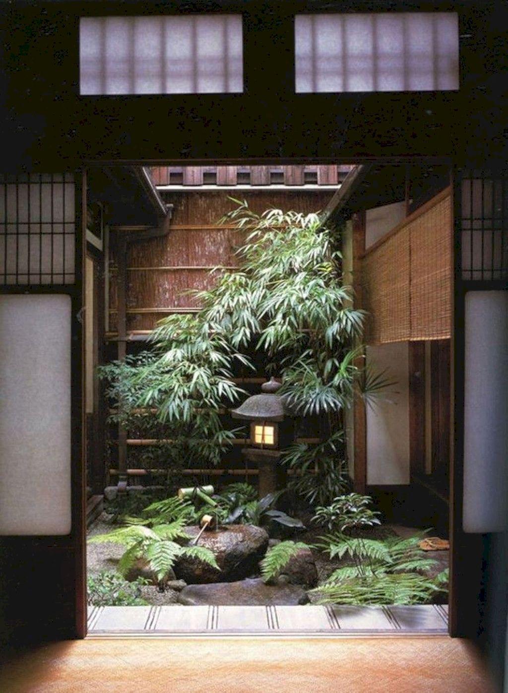 Modern Minimalist Japanese Garden
