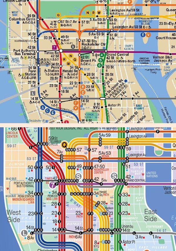 Nyc Subway Map Cards.Nyc Subway Map And The Kick Map Transit Maps Nyc Subway Map Map