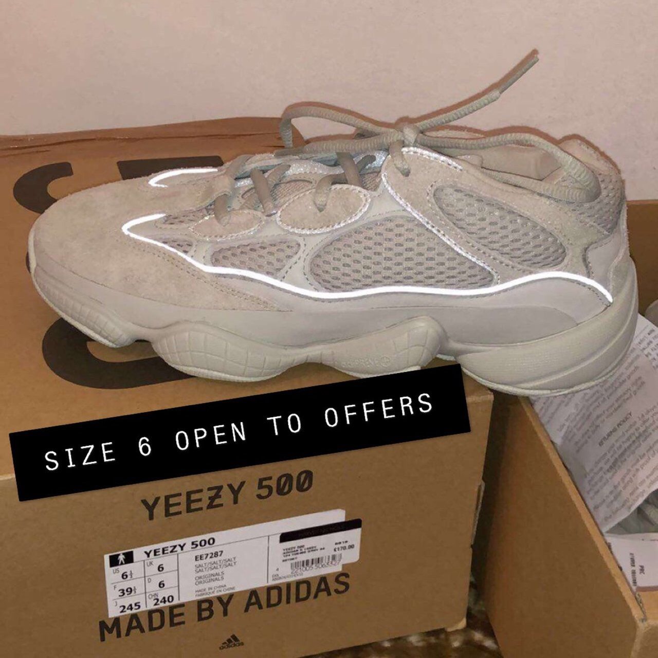 7cc670132f6ad Yeezy 500 · Look what I just found on Depop ✋ https   depop.app.