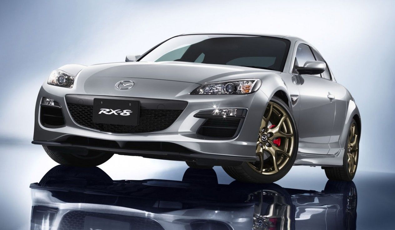 Mazda brings back spirit r badge for final rx 8 rotary development continues
