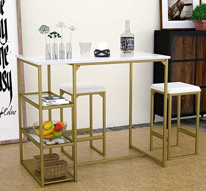 16+ 3 piece counter height dining table set Tips