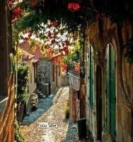Molyvos village in Lesvos island, Greece !!