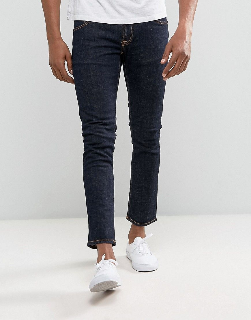 Mens skinny jeans tight ankle