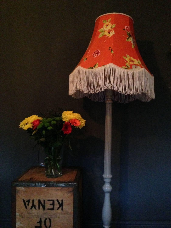 Handmade Standard Lampshade Floral Lamp Shade Vintage Style Floor