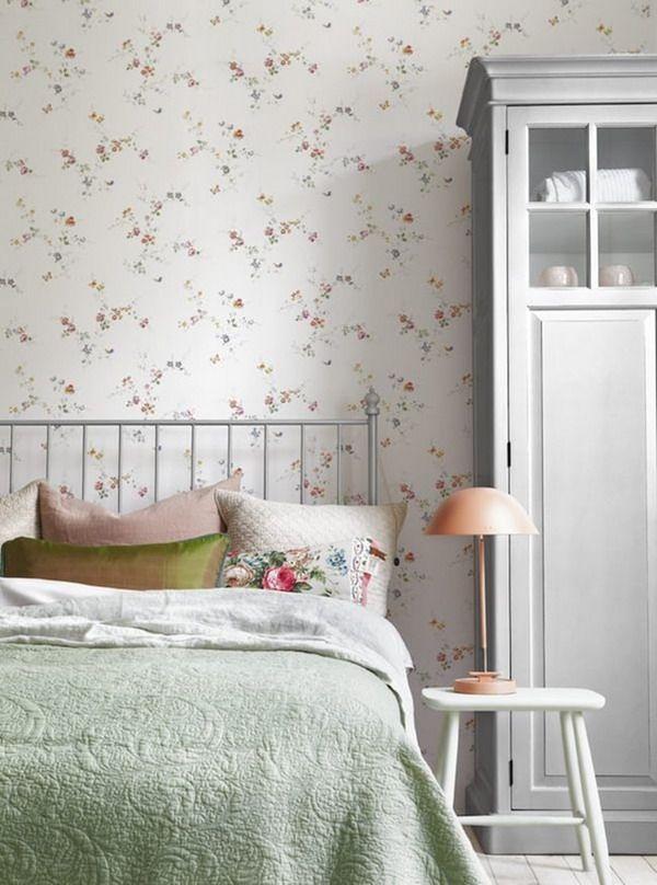 bonitos papeles pintados para dormitorios