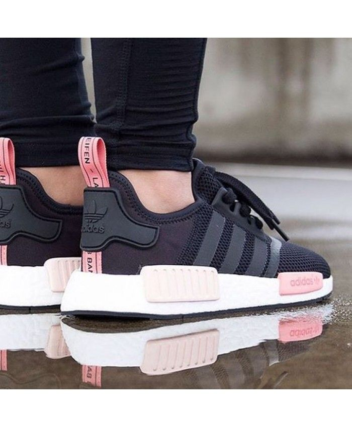 in stock speical offer a few days away Adidas NMD Femme Rose Noir | Chaussure | Chaussure adidas ...