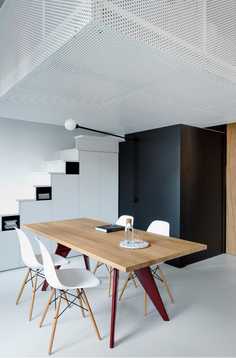 Volumes Interior Design Interior Industrial Loft Design