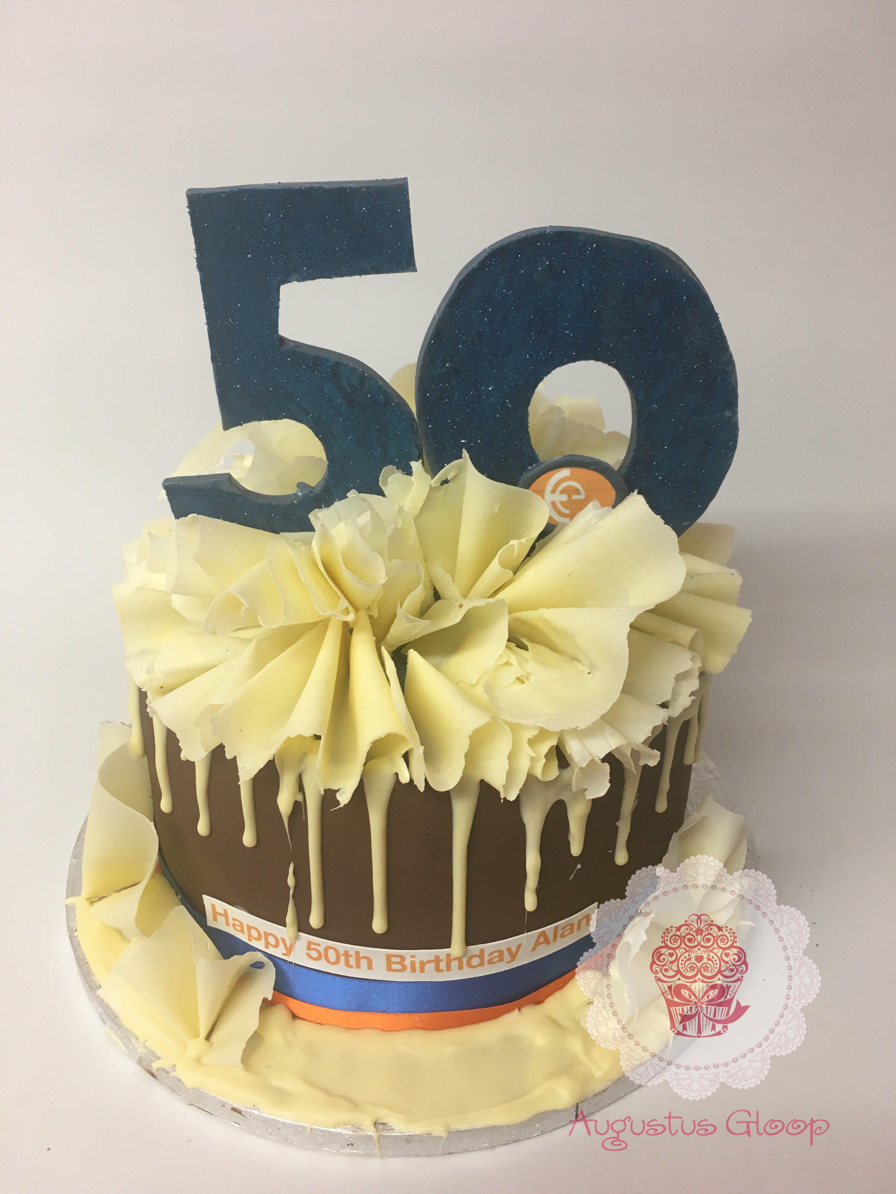 Augustus Gloop Cakes Cake, 50th birthday cake, Happy