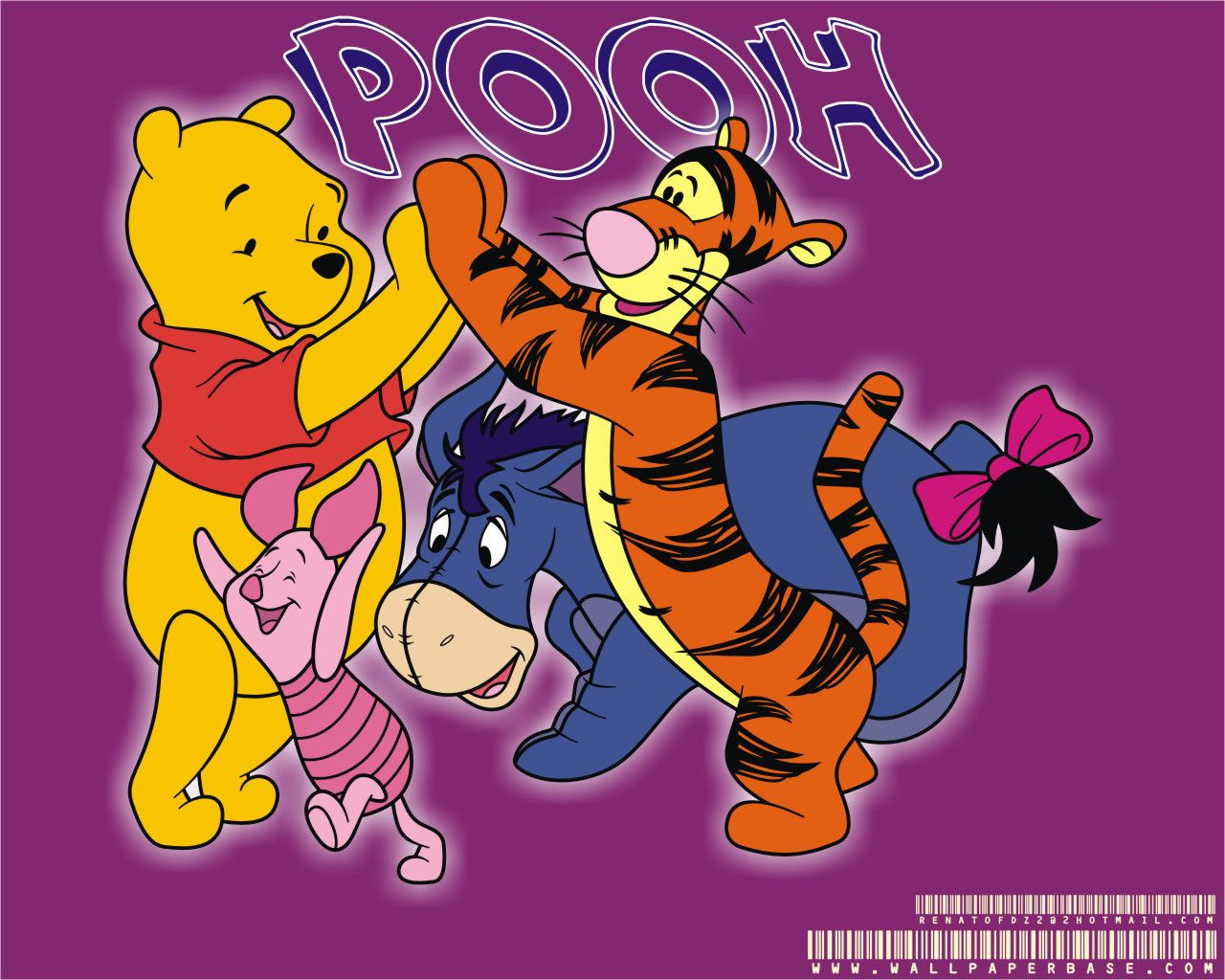 Winnie The Pooh Disney HD Wallpaper For IPad Air 2