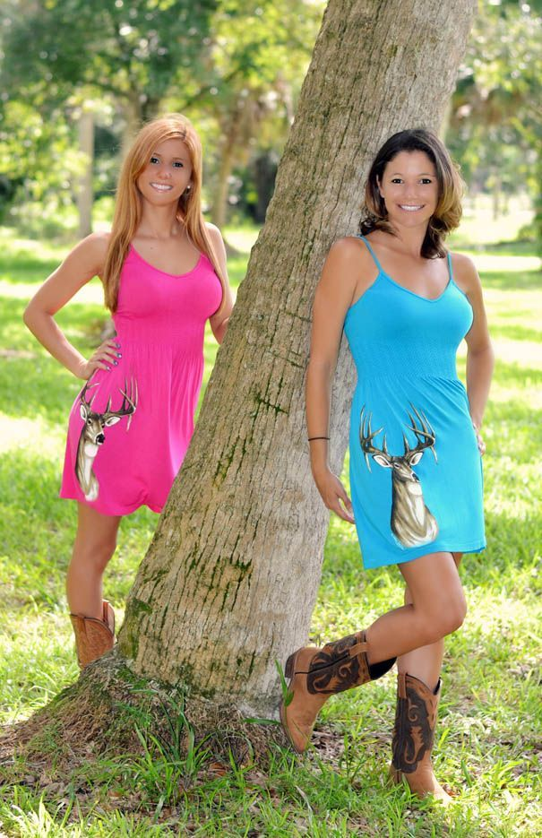 Onesize fits some girls Cute hunting dress