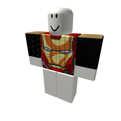 Roblox Ironman Black Shirt