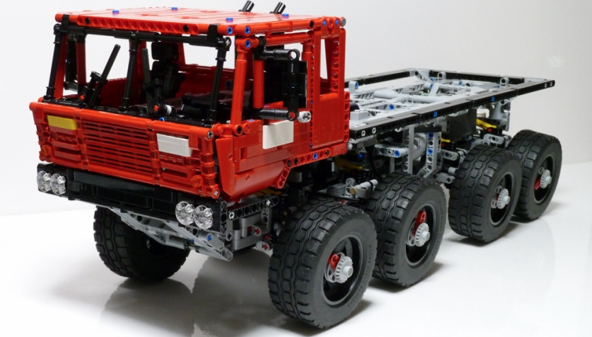 lego technic truck trial tatra 813 lego technic legos. Black Bedroom Furniture Sets. Home Design Ideas
