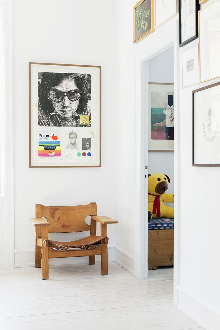 Spanish Chair by Børge Mogensen and a cute teddy. | Fredericia ...