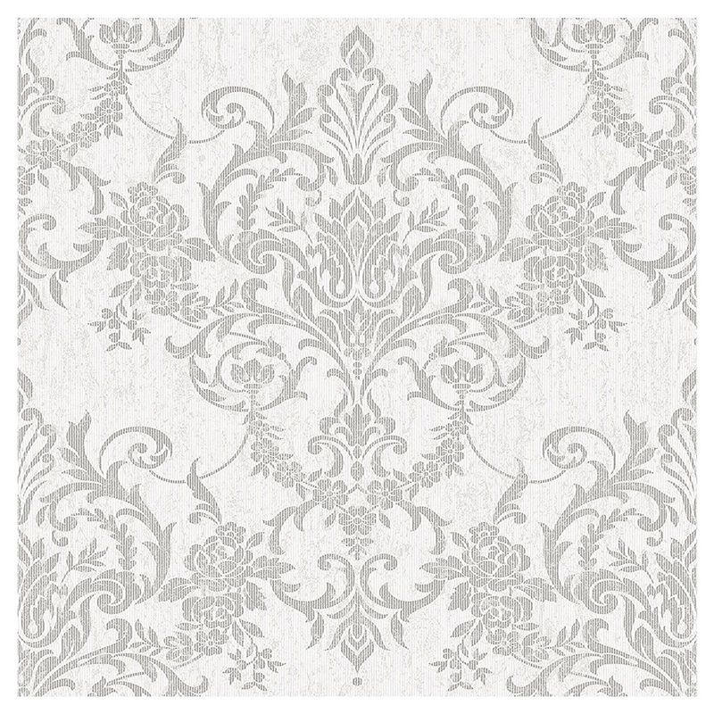 Superfresco Easy Paste the Wall Victorian Damask Silver