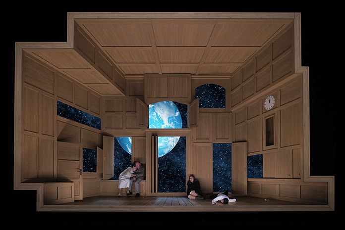 Klaus grünberg u set and lighting design for verdi s aida