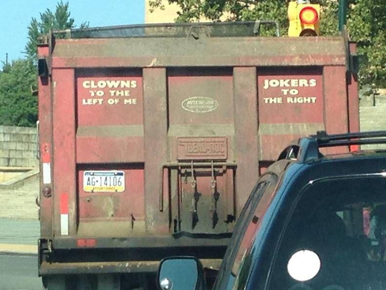 Stealers Wheel humor