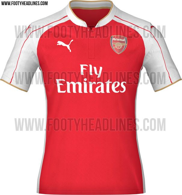 ... released - the new Arsenal Home Kit features a classy design with gold  details, while the Arsenal Away Kit is golden and the Arsenal Third Shirt  boasts ...