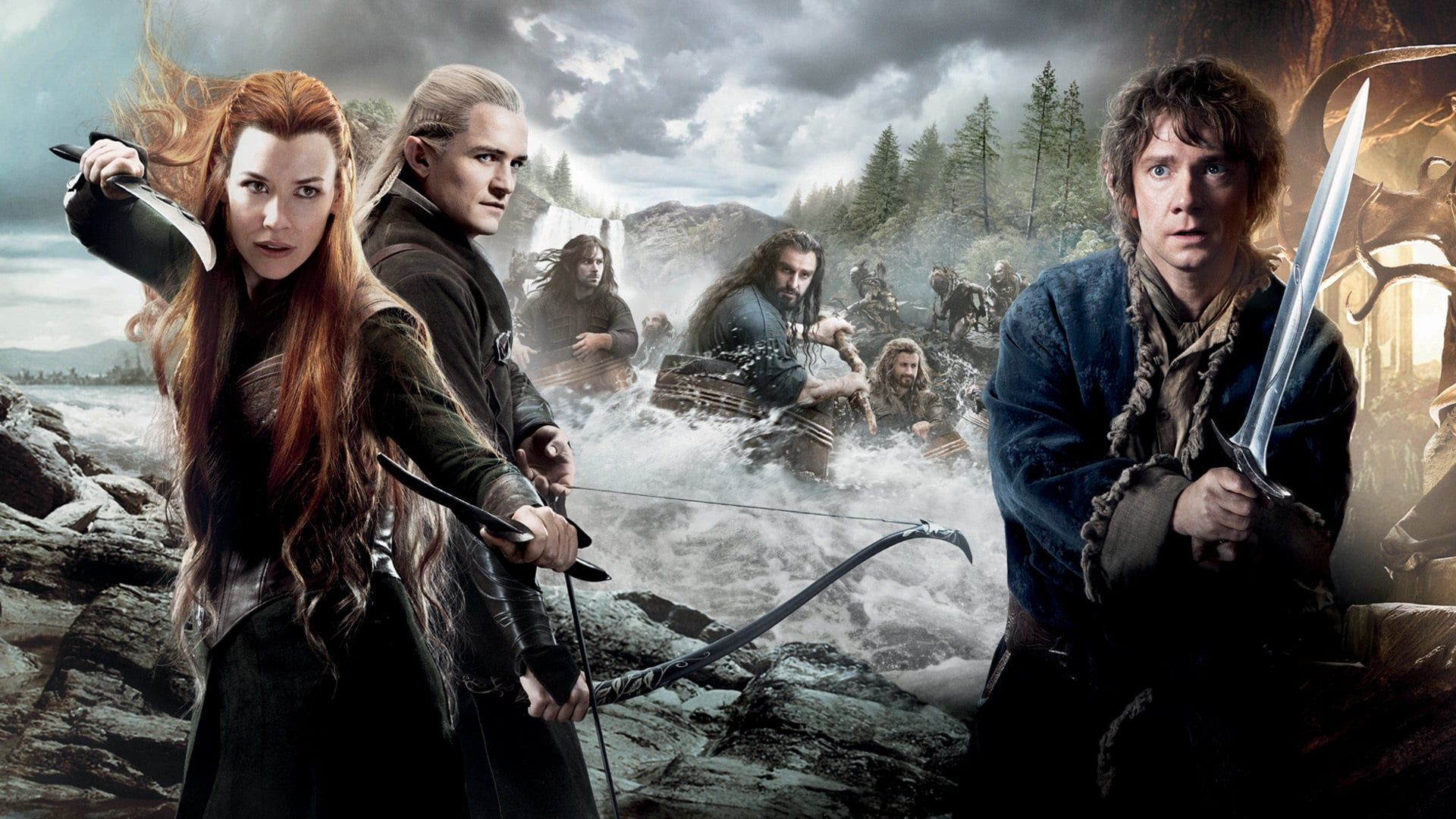 O Hobbit A Desolacao De Smaug Filmes E Series Hd Desolacao De