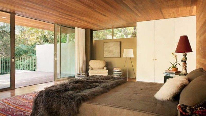 Schlafzimmer Inspiration Für Mitte Des Jahrhunderts Moderne Häuser #edris  #edrishaus #moderneböhmische #böhmischesschlafzimmer
