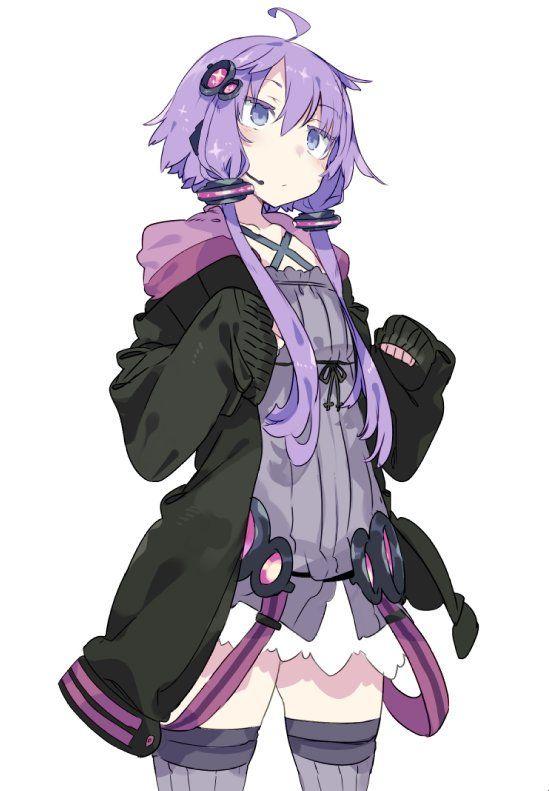 Pin By Huong Hoang On Vocaloid Yukari 結月ゆかり イラスト アニメ