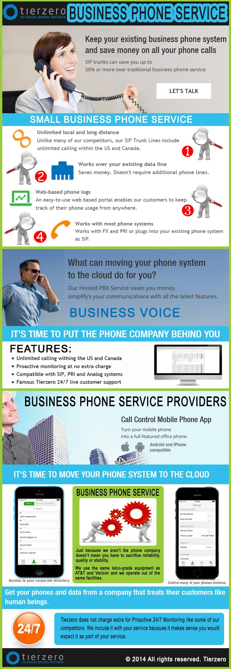 Visit our site http://tierzero.com/what-we-do/business-voice/ for more information on Business Phone Service. Business Phone Service, telecom audio conferencing is the perfect solution for today's business environment. Through telecom audio conferencing you can organize a worldwide meeting in minutes and respond to business issues on the spot. This enhances productivity and saves on hidden meeting costs involved in travel and accommodations.