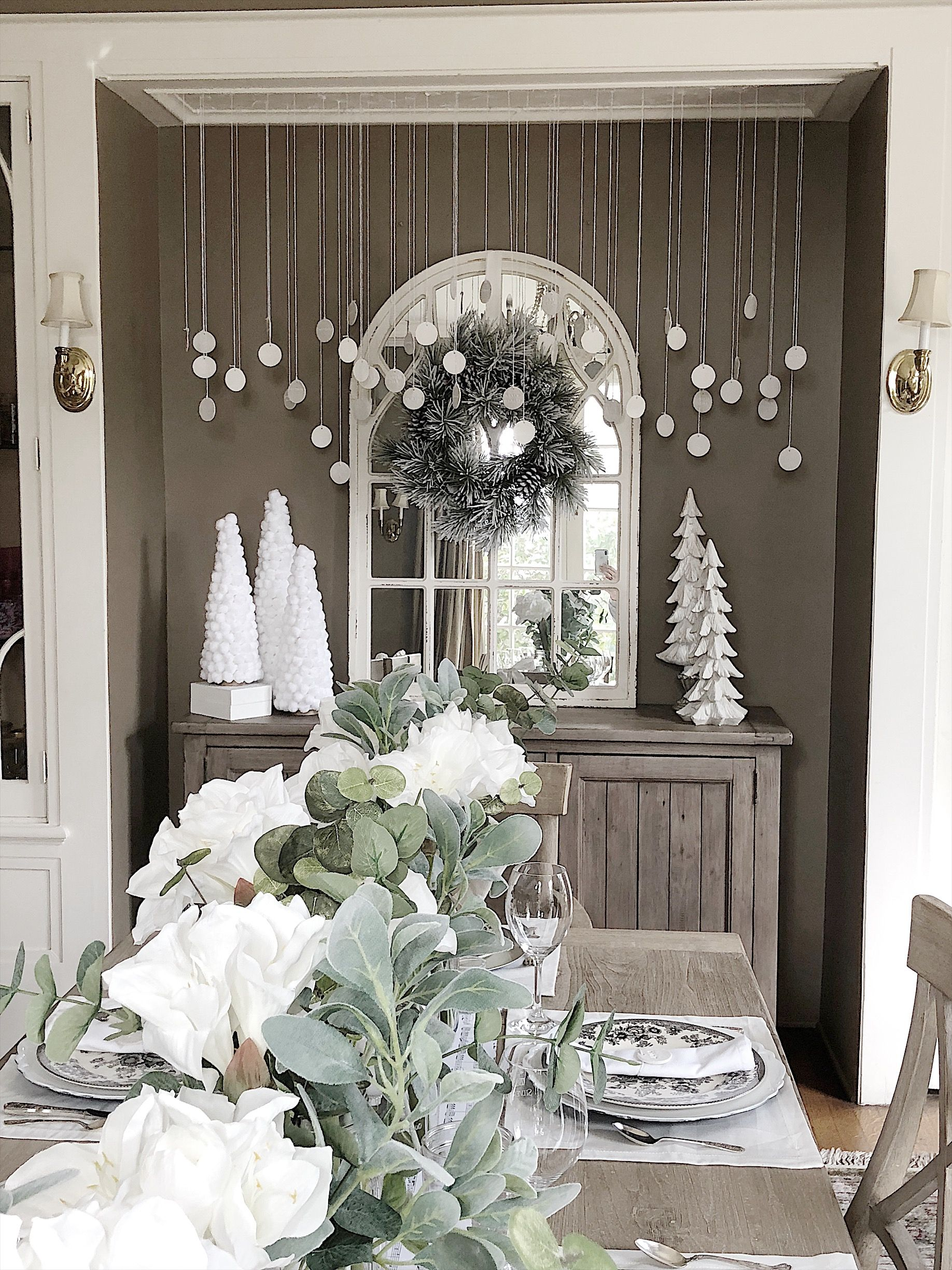 A Farmhouse Christmas with Hobby Lobby Hobby lobby decor