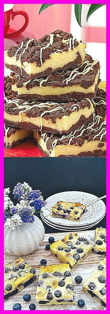 Photo of Wunderbarer Rhabarber- Pudding- Kuchen Mit Streusel –  Käsekuchen mit Schokostr…