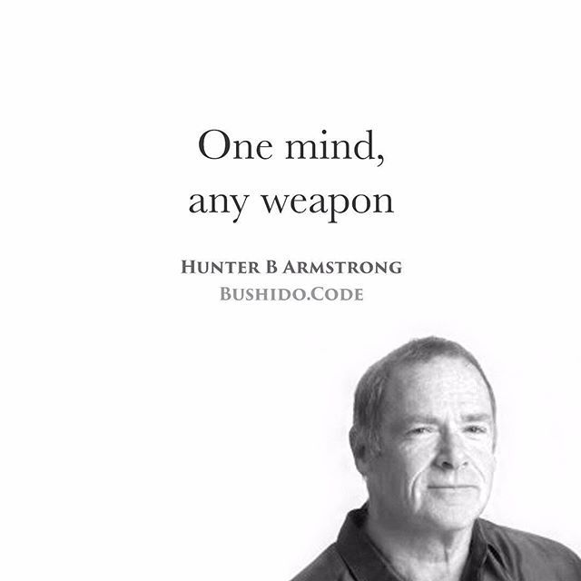- Inspired by the brilliant @thinc_ - The battle is won first in the mind. For centuries true warriors have endeavoured to train not only their arms but their minds for combat. The power of the mind as mans ultimate weapon is what pushed Hunter B. Armstrong to travel the world researching hoplology the study of human combative behavior and performance. - The person who has mastered his mind to see possibilities can win a battle even if he has lost his weapon of choice. Samurais know their…