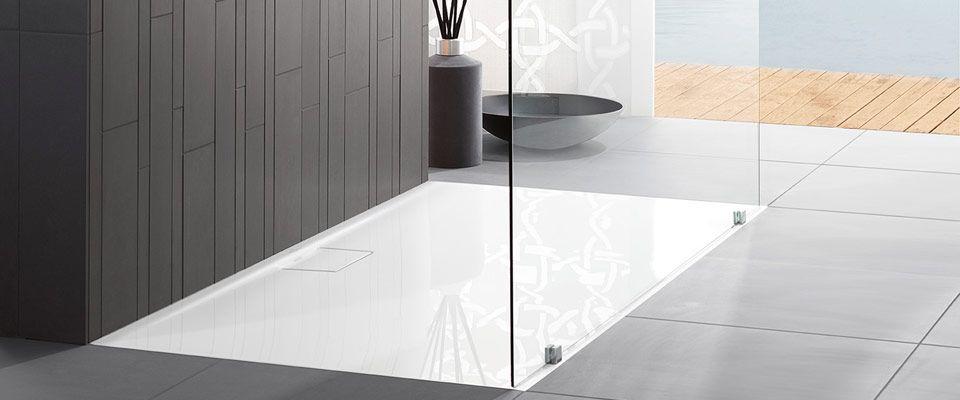 Беспороговая ванная комната - Architectura, Futurion VilleoyBosh