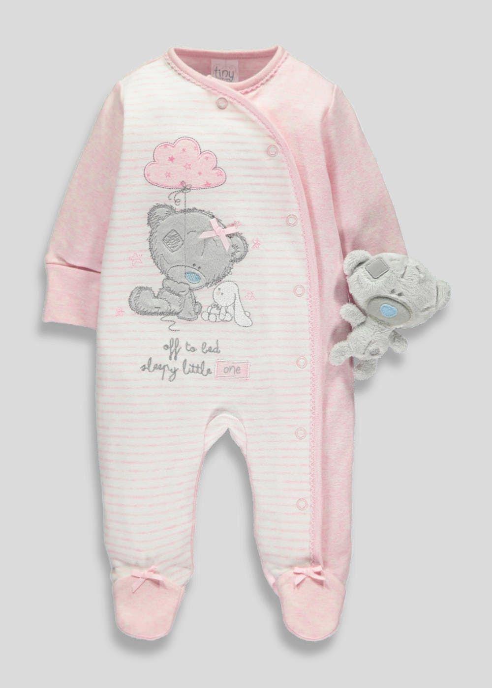 1cbc091b4c1 Girls Tatty Teddy Sleepsuit Set (Tiny Baby-9mths)