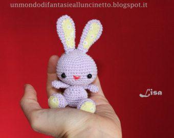 Easter Bunny Crochet Bunny Amigurumi Long By Arabesquescissors