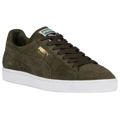 PUMA Suede Classic - Men's | Forest Night/White $64.99