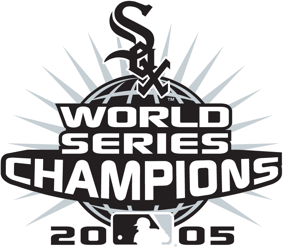 2e033f2d6ad Chicago White Sox Champion Logo (2005) - Chicago White Sox 2005 World  Series Champions logo -- worn as a patch in 2006