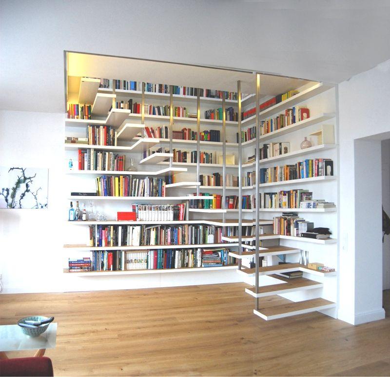 Those stairs ❤ | wohnen. | Pinterest | Treppe, Bücherregale und ...