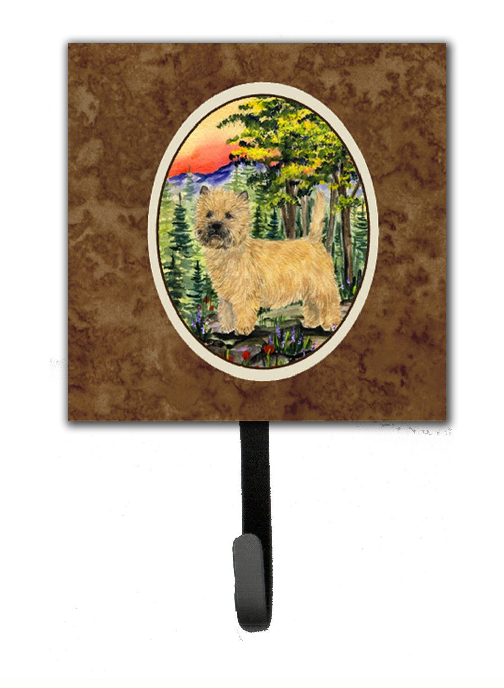 Cairn Terrier Leash Holder or Key Hook
